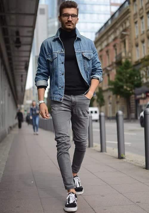 Jeans Cool Shoes Mens