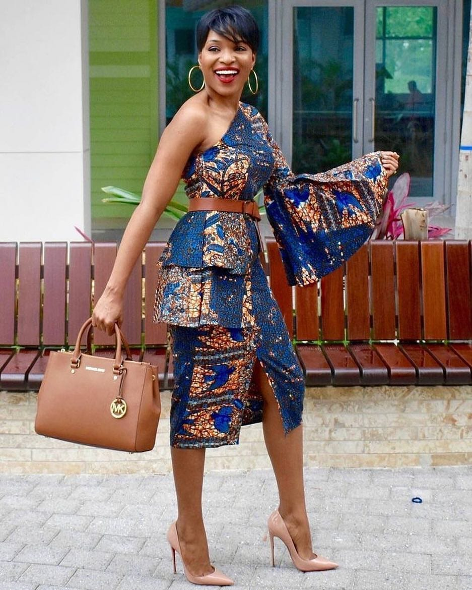 27 Best Kitenge Designs For Long Dresses