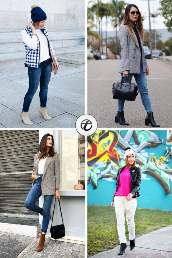 Here Is How To Style Jeans and Ankle Boots for Women – 20 Plus Ideas To Choose From
