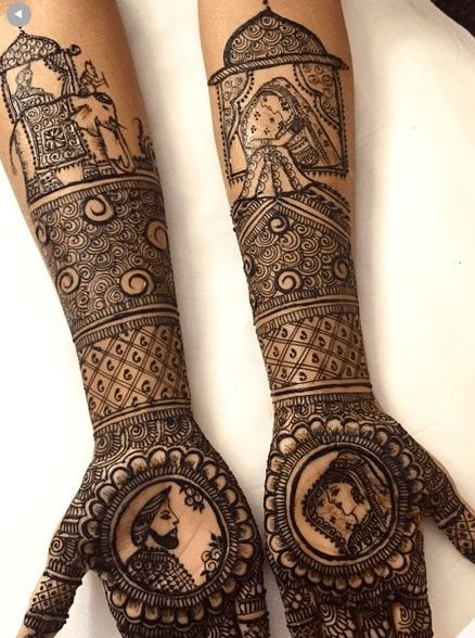 Types Of Henna Art Their Names With Pictures Complete List
