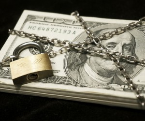 Under Lock and Chain Photo Credit: Pictures of Money via Flickr.