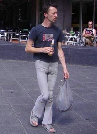 Gay man tight jeans