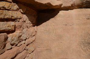 Painted Hand Petroglyphs