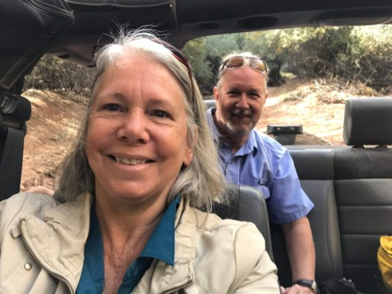 On the Jeep Tour