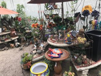 Temecula Garden Shop - loved the rock & metal sculptures
