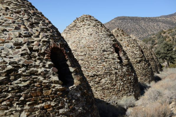 Wildrose Charcoal Kilns - Back