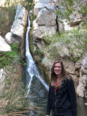 Megan at Falls