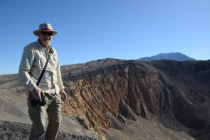 Ubehebe Crater reveals beautiful colors