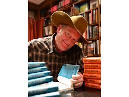 Craig Johnson signing books