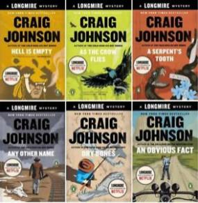 Some of Craig Johnson's books