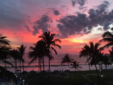 Coastal sunsets aee amazing at Mazatlan Mexico