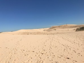 Sand is easy to get lost in