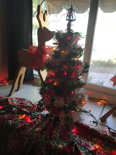 Festive tiny tree