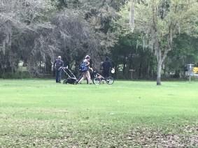 Disc Golf carts Medard Park Plant City