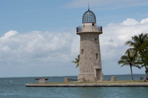 The ornamental lighthouse at Boca Chita Biscayne NP