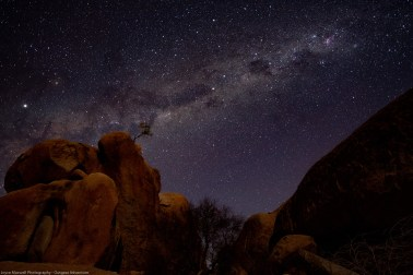 Stars in Spitzkoppe
