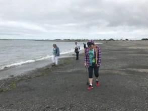 Hunting rocks at Damon Point, Ocean shores