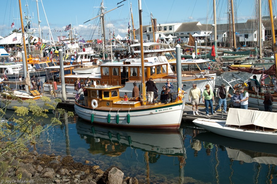 2010 Wooden Boat Festival at Port Townsend