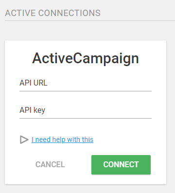 ThriveLeads - Parametrage ActiveCampaign