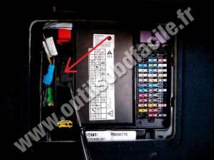 Prise OBD2 dans les Renault Espace III (1997  2003)  Outils OBD Facile