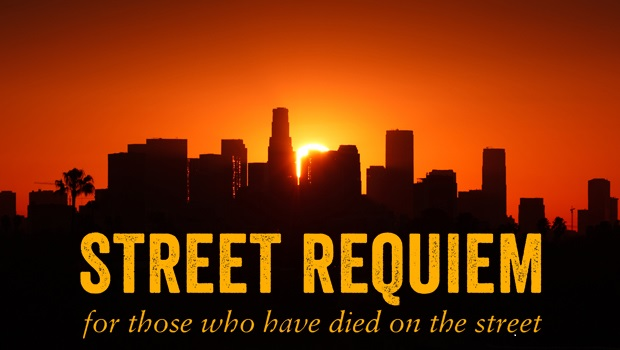 "Opera Star, Homeless Sing in ""Street Requiem"""
