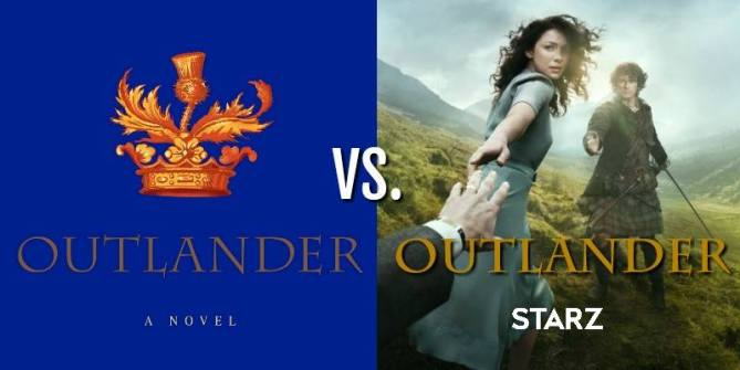 outlander book vs. tv show, read the outlnder books