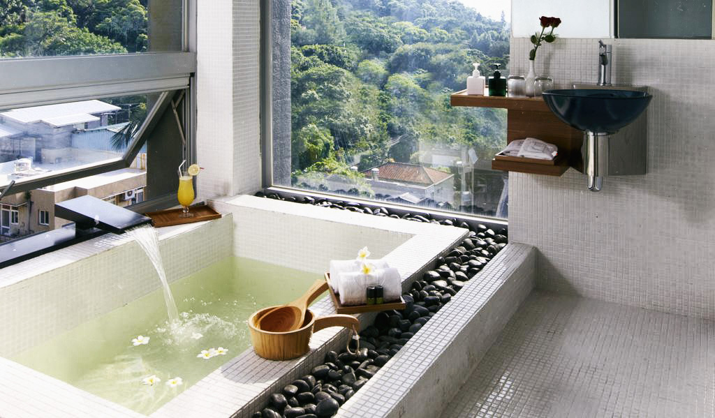 Hotel double one jacuzzi Taipei