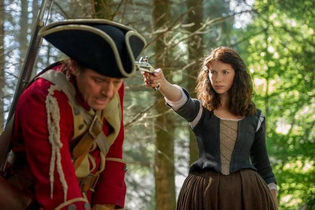 'Outlander' Season 1B  Claire Randall Fraser (Caitriona Balfe)