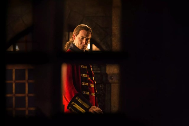 'Outlander' Season 1B Captain Jonathan Randall (Tobias Menzies)