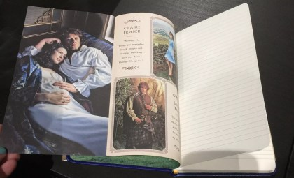 Insight Editions 'Outlander'-inspired leatherette journal
