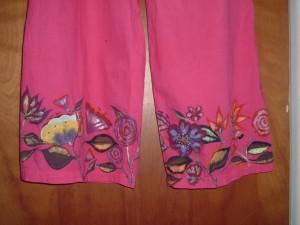 Pants Detail:Wearable Art by Francesca De Grandis
