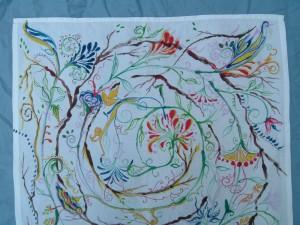 Nature's Wildness Is a Mandala, detail2, Francesca De Grandis