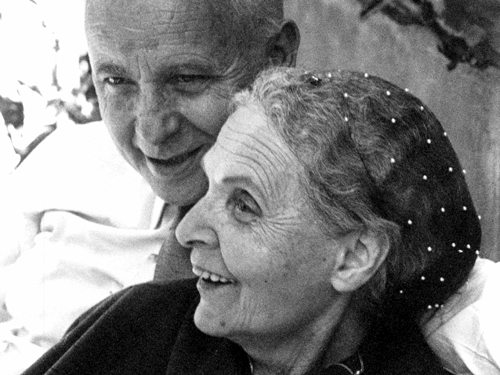 Louis Aragon and Elsa Triolet