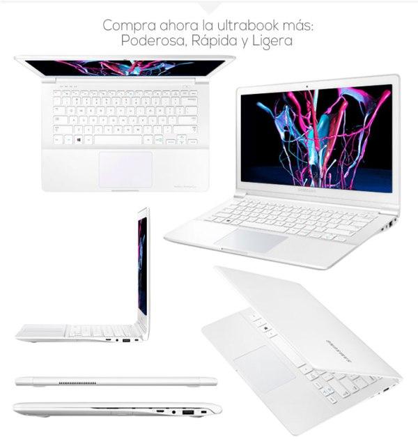PORTÁTIL ULTRAFINO SAMSUNG 9 ATIV Book NP915S3G 4GB 128GB SSD 13,3″