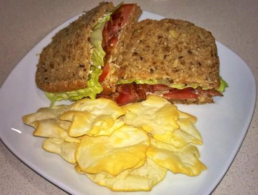 picnic saludable y lowcarb Pan sin hidratos