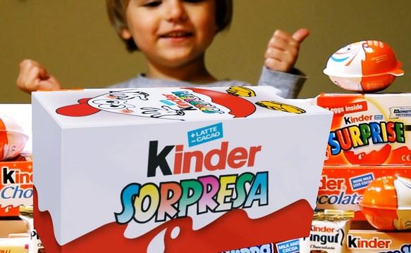 """La """"sorpresa"""" del Huevo Kinder Sorpresa"""