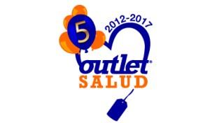 Logo 5 Aniversario OutletSalud.com