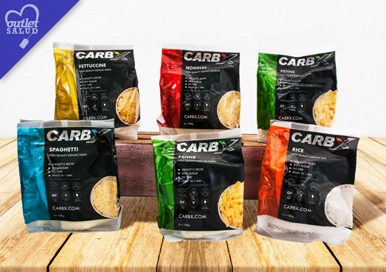 La Pasta de Konjac de CARB X es una alternativa a la pasta convencional baja en hidratos de carbono, sin azúcar y sin gluten