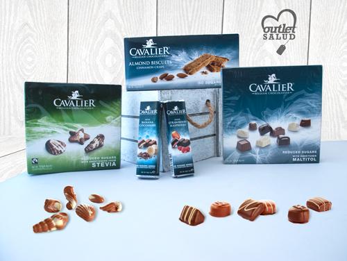 Cavalier es la empresa Belga pionera en la fabricación de chocolates sin azúcar