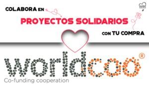 Worldcoo, colabora en Proyectos Sociales con tu compra en Outletsalud