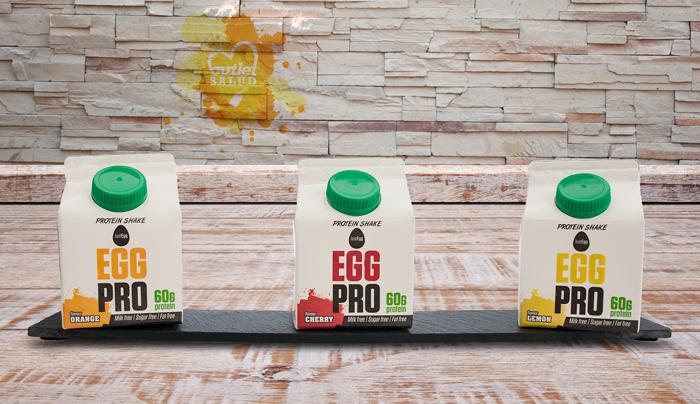 Mejora tu dieta con los Batidos Proteicos de Clara de Huevo de PR-OU sin lactosa, sin gluten y ricos en proteínas