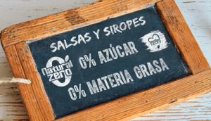Salsas y Siropes Natural Zero 0 Azúcar, 0 Materia Grasa, en Outletsalud