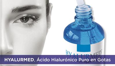 Ácido Hialurónico Puro en Gotas: HYALURMED