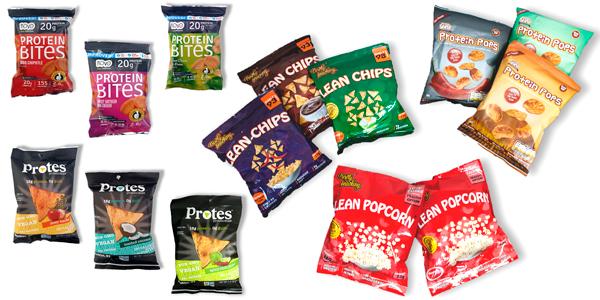PROTEIN SNACKS Snacks, Chips y Nachos de Proteína, sólo en Outletsalud para la Dieta Pronokal