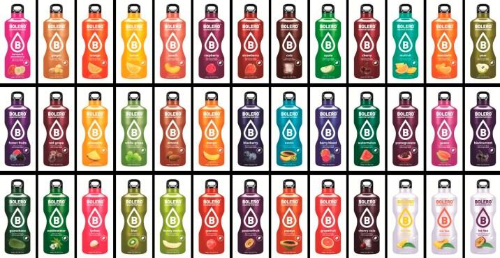 Sobres Bebidas Bolero 65 sabores en Outletsalud