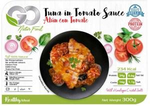 ATÚN CON TOMATE GO NATUR FOOD 300 G
