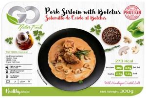 SOLOMILLO DE CERDO AL BOLETUS GO NATUR FOOD 300 G
