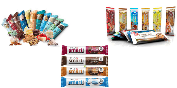 OH YEAH ONE, QUEST BAR y PHD SMART BAR: Barritas Lowcarb en Outletsalud