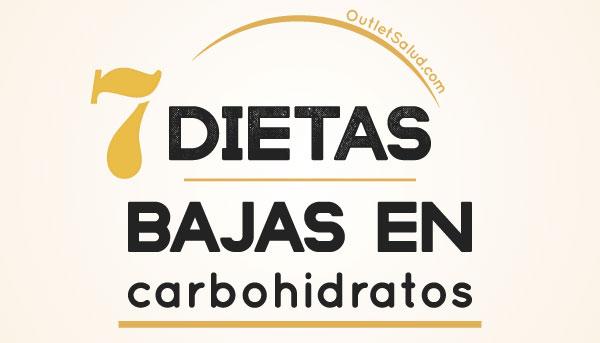 7 Dietas Bajas en Carbohidratos