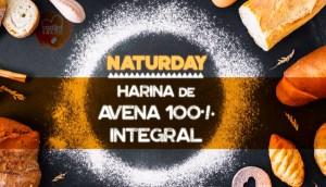 Harina de Avena Integral Naturday en Outletsalud
